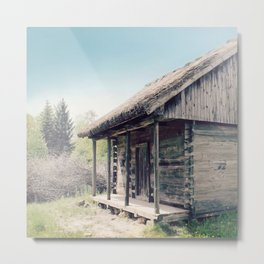 Forester's house Metal Print
