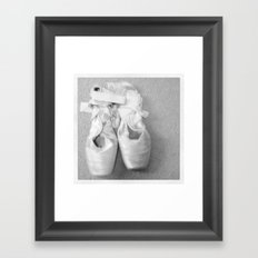 En Pointe Framed Art Print