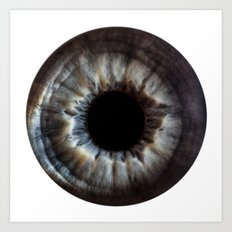 EYE Love to See You, Blue Eyes Art Print