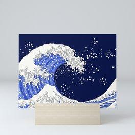 Great Blue Wave Mini Art Print