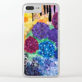 Darkness Spills Over the Garden Clear iPhone Case