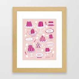 Would You Like Some Dessert (in Pink)? Framed Art Print