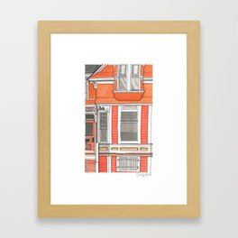 Home #5 Framed Art Print