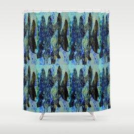 BLACK FISH  #society6 #decor #buyart Shower Curtain