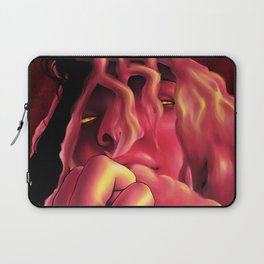 red face Laptop Sleeve