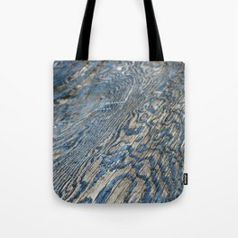 Plywood Ripples Tote Bag