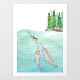 Secret world Art Print