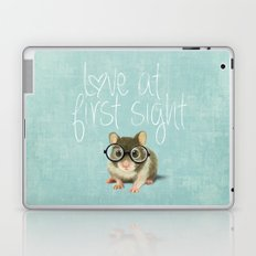 Little mouse in love Laptop & iPad Skin