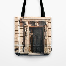 The Lions and The Trees Tote Bag