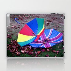 She came in with the Autumn wind Laptop & iPad Skin