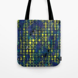 gold&blue Tote Bag