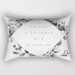 The End Is The Beginning Rectangular Pillow
