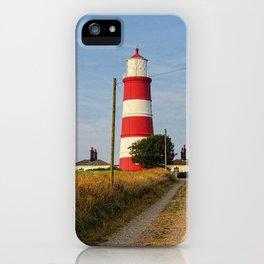 Happisburgh Lighthouse Norfolk  iPhone Case