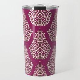 SPIRIT purple cream Travel Mug