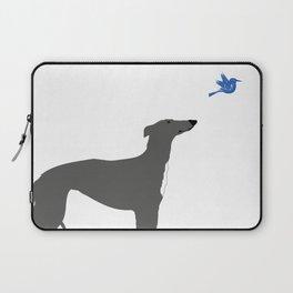 Whippet Dog Laptop Sleeve