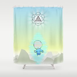 Transporter Shower Curtain