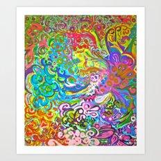 Song Of Wildflowers Art Print