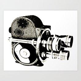 Old Camera 2 Art Print