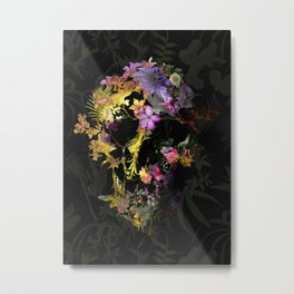Spring Skull Metal Print