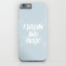 Fjerdan And Fierce iPhone Case