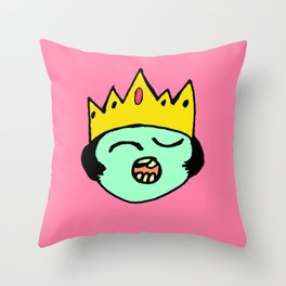 QueenB Throw Pillow