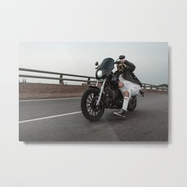 Long Live The Dyna Metal Print