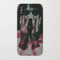 mia wallace iPhone & iPod Cases featuring Mia by Robotic Ewe