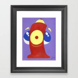 Hydrant Framed Art Print