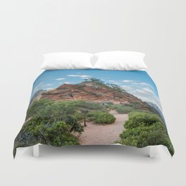 Zion - Angels Rest Duvet Cover