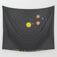 solar system Wall Tapestries featuring Solar System by Loaded Light Photography