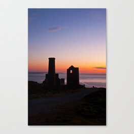 Wheal Coates Tin Mine, St.Agnes, Cornwall Canvas Print