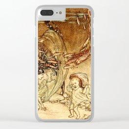 Arthur Rackham - Fouqué - Undine (1909) - The Infancy of Undine Clear iPhone Case