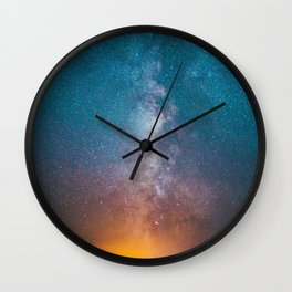 Igniting The Galaxies Wall Clock