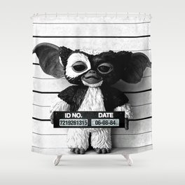 Gizmo lineup Shower Curtain