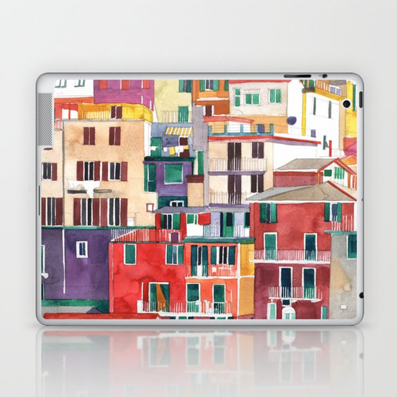 Cinque Terre Laptop & iPad Skin