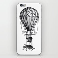 Discovery (black on white) iPhone & iPod Skin