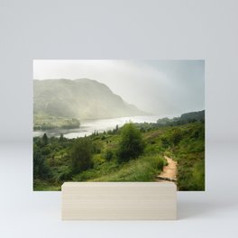 Scottish Highlands Landscape Panorama Mini Art Print