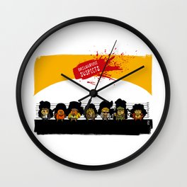 UNUSUAL SUSPECTS : Inglourious Wall Clock