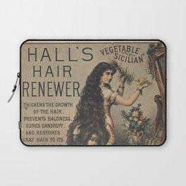 Halls Hair Renewer Laptop Sleeve