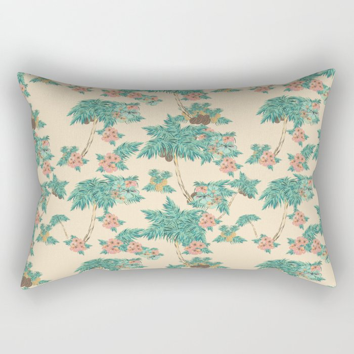Aloha peach Rectangular Pillow