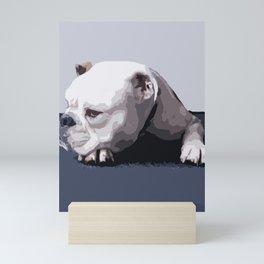Don't touch me! Mini Art Print