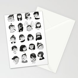 Daily mood Stationery Cards