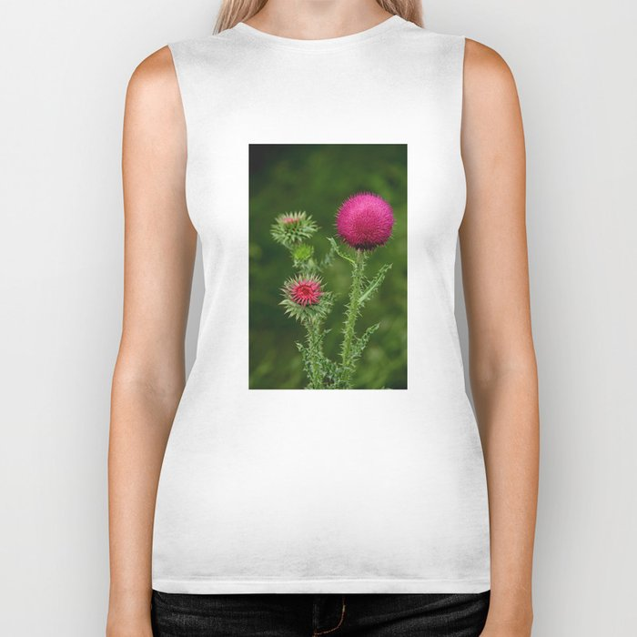 Prickly beauty Biker Tank