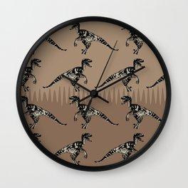 ChocoPaleo: Velociraptor Wall Clock