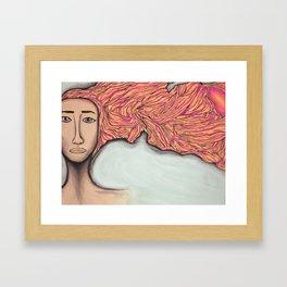 Igneous Framed Art Print
