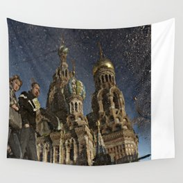 The Church of the Savior on Spilled Blood, St.Petersburg, Russia. Wall Tapestry