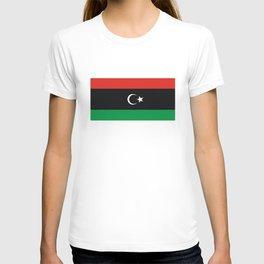 libya country flag T-shirt