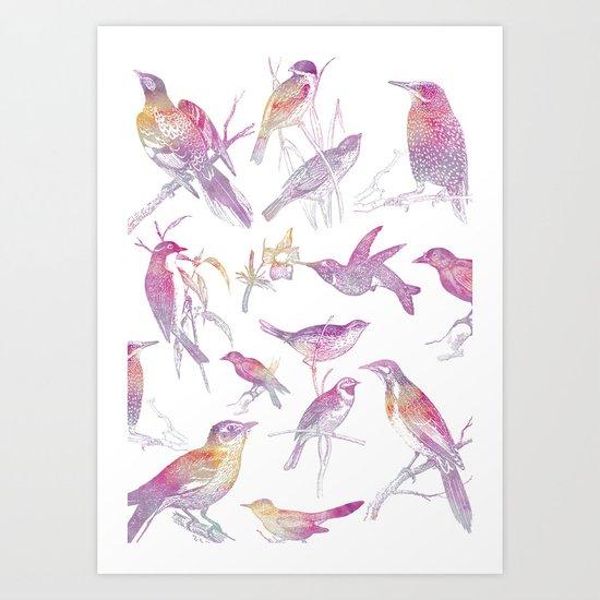 If you're a bird, I'm a bird. Art Print