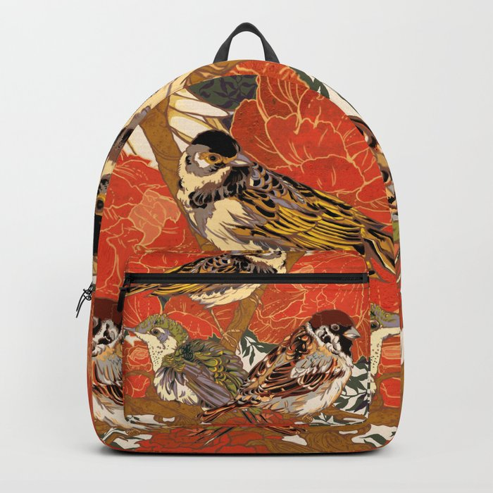 Morning Peonies Backpack