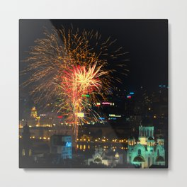 Firework collection 1 Metal Print